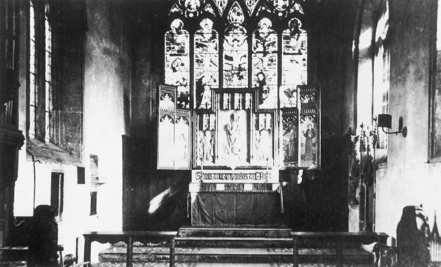 St Mary's Church - Chancel and East Window