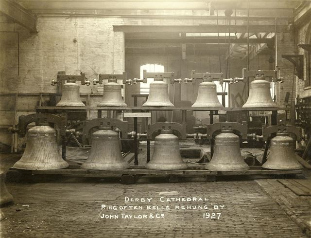 Ring of Ten Bells, Derby Cathedral