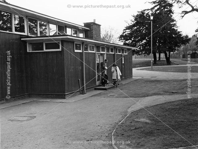 Chaddesden Library entrance