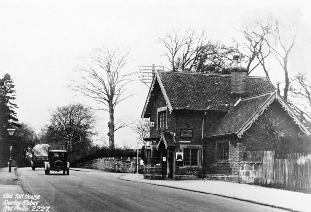 Toll House and Post Office (demolished c 1930)