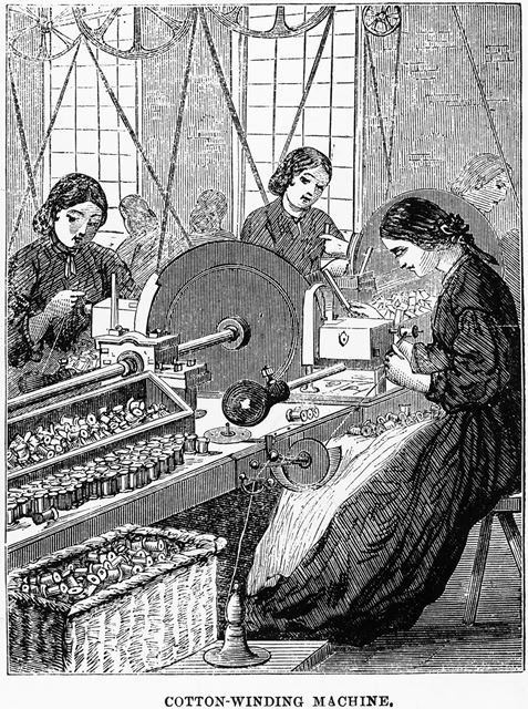 Cotton Winding Machine
