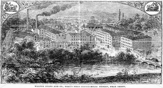 Boar's Head Mills (Walter Evan's Cotton Mills)