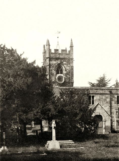 St Andrew's Church, Radbourne, south side