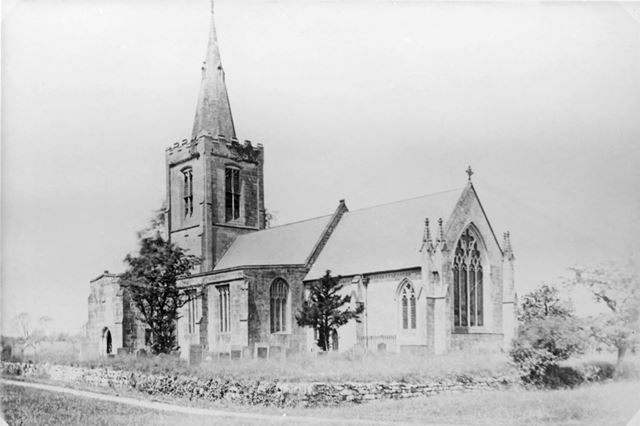All Saints Church, Mackworth Village