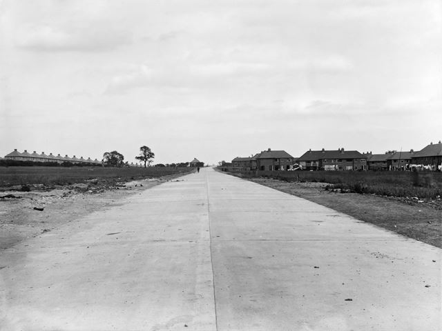 Development of Hereford Road, Chaddesden