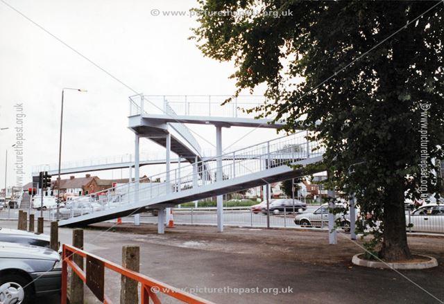 'Spider Bridge' over ring road junction