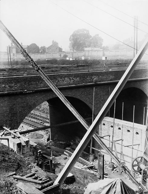 Osmaston Road bridge widening at Pear Tree and Normanton railway station