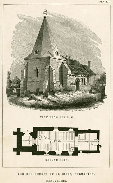The Old Church of St Giles, Normanton