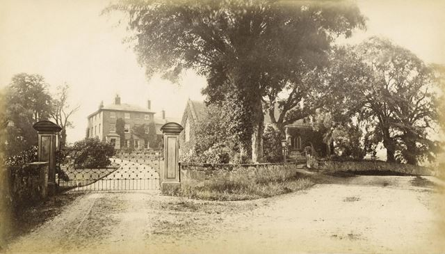The Rectory and Church, Stanton by Bridge