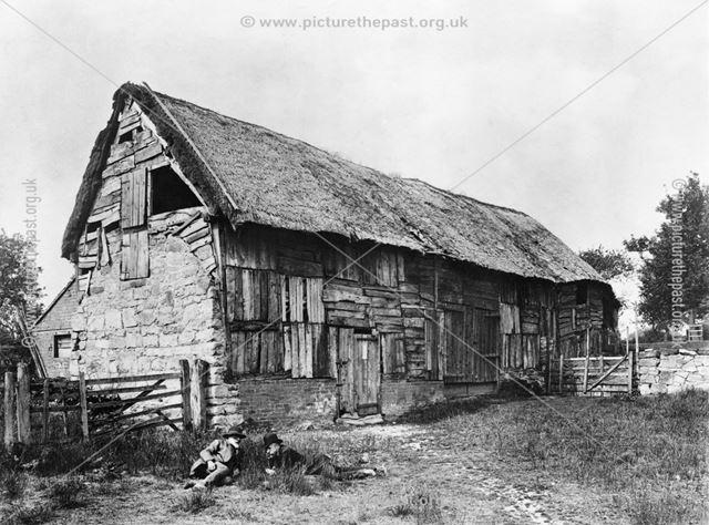 An old barn at Bull's Farm