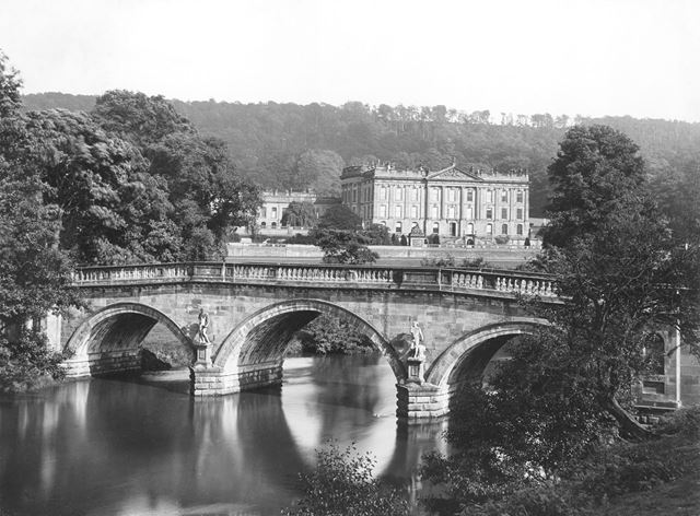 Chatsworth House and Grounds, c 1930