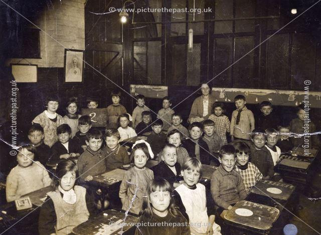 Sneinton Church Trust School, Windmill Lane, Nottingham, c 1926-27