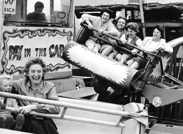 Opening Day at Goose Fair, 1983