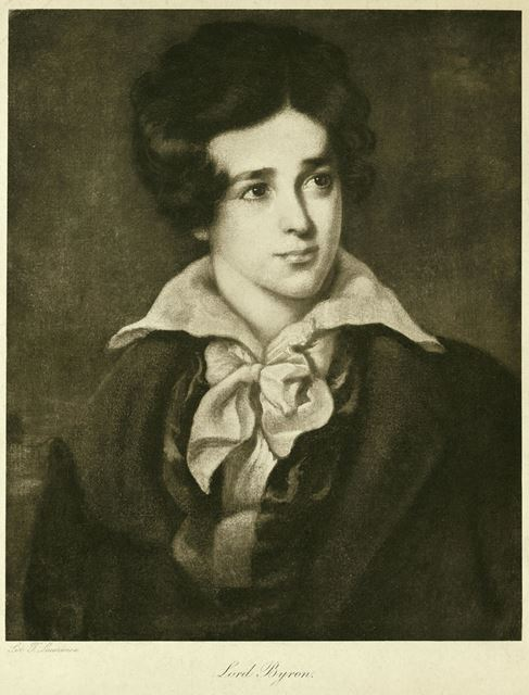 George Gordon Noel Byron, 6th Baron, as a boy