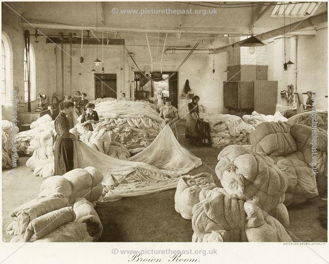 Thomas Adams Lace Factory, Stoney Street, Nottingham, 1914