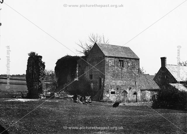 Beauvale Priory, Moorgreen, c 1890