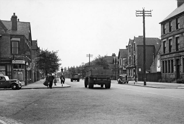 Beeston Road, Dunkirk, Nottingham, c 1950s