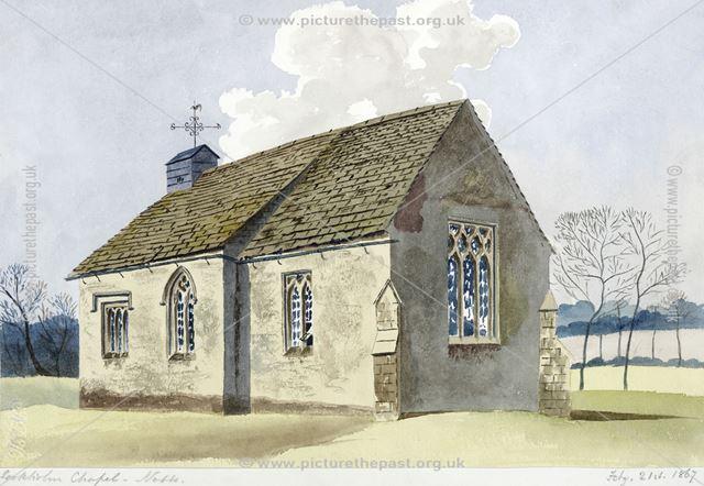 Exterior of St. Peter & St. Paul's Chapel by Joseph Seddon-Tyrer, Sookholme Lane, Sookholme,