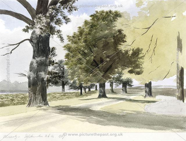Thoresby by Joseph Seddon-Tyrer, 1867