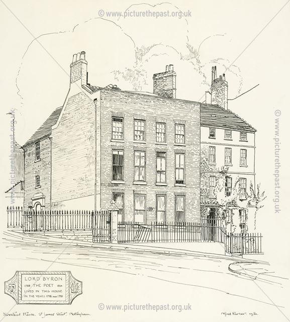 Newstead House, St James Street, Nottingham, 1931