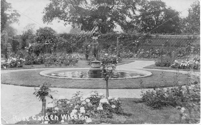 Rose Garden - fountain