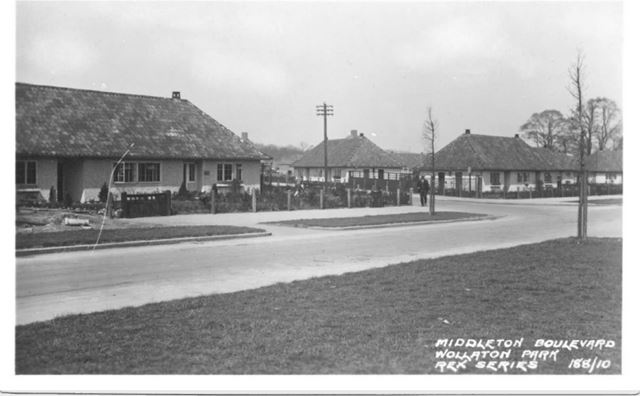 Middleton Boulevard, Wollaton Park