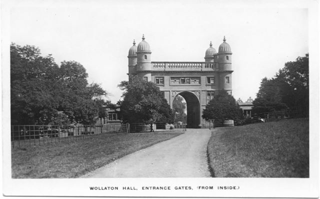 Wollaton Hall Gates (from inside)