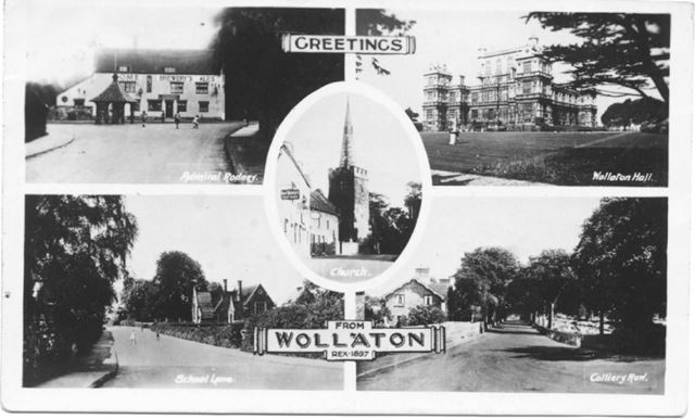 Five views of Wollaton