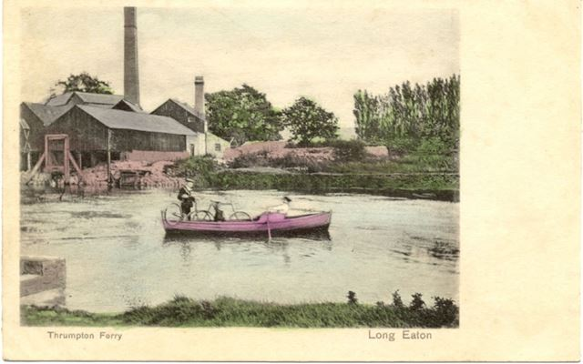 River Trent at Thrumpton