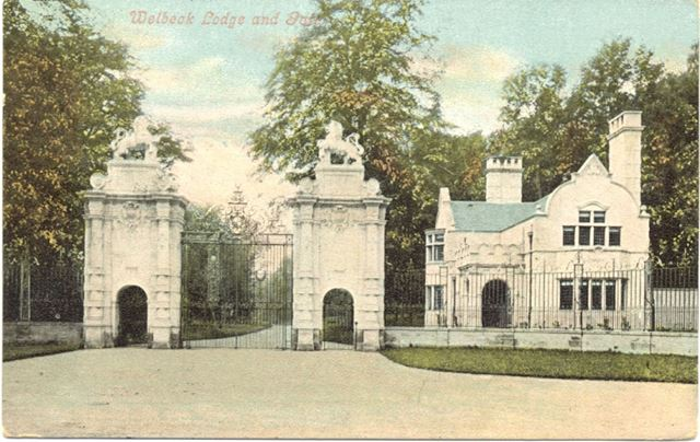 Welbeck Lodge and Lion Gate