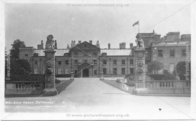 Welbeck Abbey Entrance