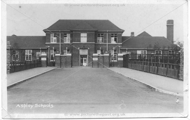 William Crane School - entrance to senior girl's block