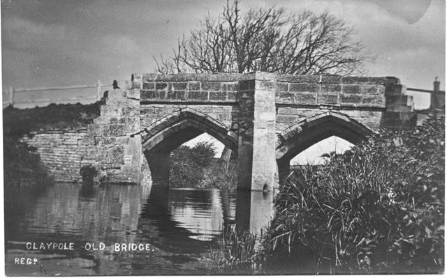 Claypole old bridge