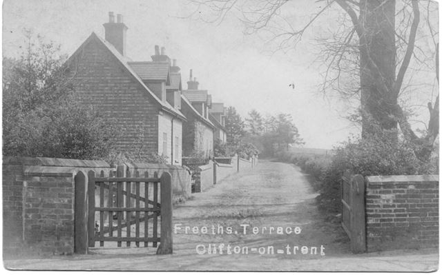 Freeths Terrace, Silver Street, North Clifton, c 1900s-10s