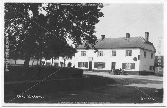 Manor Arms, Elton, c 1920s ?