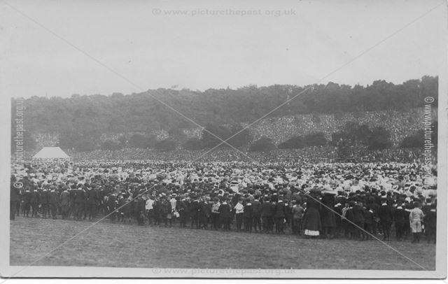 King George V Coronation celebrations - Children's Coronation Demonstration
