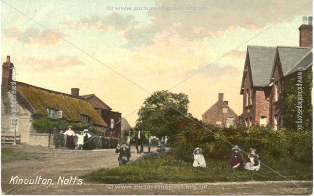 Owthorpe Lane, Kinoulton, c 1900s