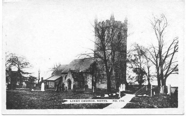 St Michael's Church, Linby, c 1900s