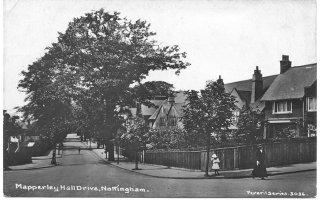 Mapperley Hall Drive, Nottingham, Mapperley Park, 1900s-1920s