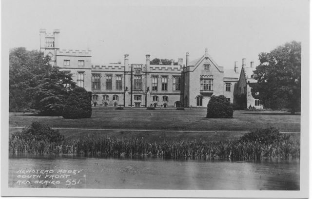 South Front, Newstead Abbey