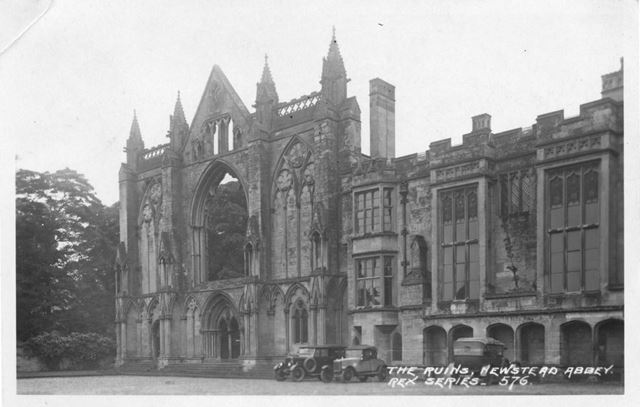 West Front, Newstead Abbey