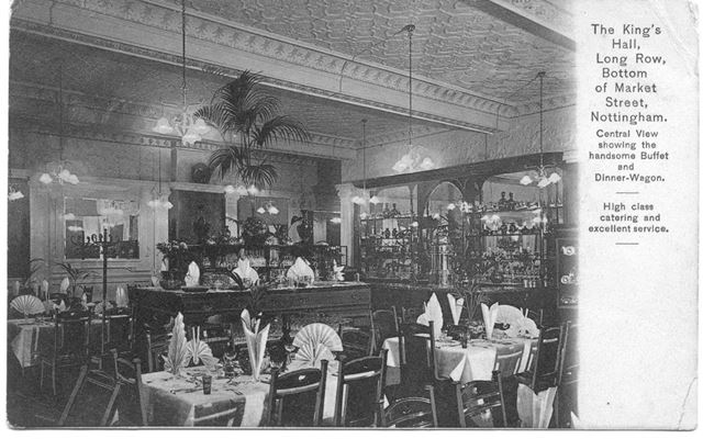 The Kings Hall Dining Room, The Talbot (now Yates)
