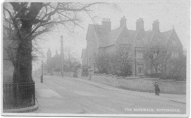 The Ropewalk at Junction with Upper College Street