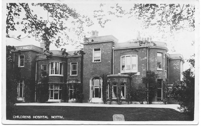 Children's Hospital, Chestnut Grove, Mapperley Park, Nottingham, pre 1950s