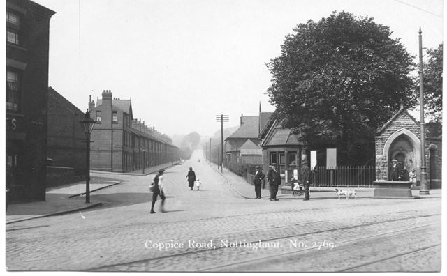 St Ann's Well Tram Terminus and Coppice Road