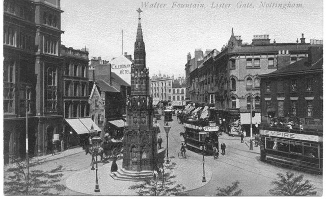 Walter Fountain, Lister Gate, Nottingham, 1900s-1920s