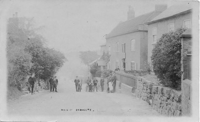 Town Street and The White Lion public house, Bramcote