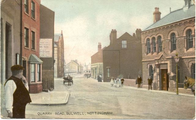 Quarry (later Commercial) Road, Bulwell, Nottingham, c 1900s