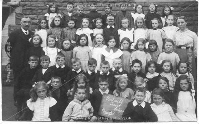 Group 1, Bulwell Trust School, Bulwell, Nottingham, c 1900s