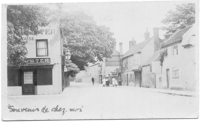 Church Street from Market Place, Bingham